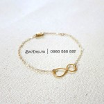 Infinity Anklet silver