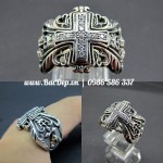 Kings Ring – Nhẫn Chrome Hearts silver